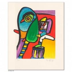 """Original Bild """"NACHWUCHSARTIST"""" von Otmar Alt - Kunst mit Zertifikat kaufen"""