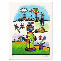 """Original Bild """"ANTRA"""" von Otmar Alt - Kunst mit Zertifikat kaufen"""