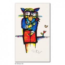 """Original Bild """"KLEINE BRAUT"""" von Otmar Alt - Kunst mit Zertifikat kaufen"""