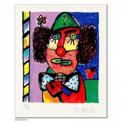 """Original Bild """"ONKEL KALLE"""" von Otmar Alt - Kunst mit Zertifikat kaufen"""
