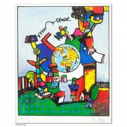 """Original Bild """"BRUDER OTMAR KOLPING"""" von Otmar Alt - Kunst mit Zertifikat kaufen"""