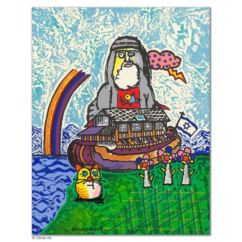 """Original Bild """"ARCHE NOAH"""" von Otmar Alt - Kunst mit Zertifikat kaufen"""