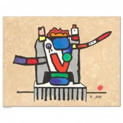 """Original Bild """"STUHL DES TRAUMES"""" von Otmar Alt - Kunst mit Zertifikat kaufen"""