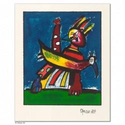 """Original Bild """"BRÜTENDE (VARIATIONEN)"""" von Otmar Alt - Kunst mit Zertifikat kaufen"""