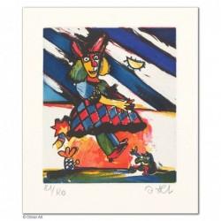 """Original Bild """"ROBERTA"""" von Otmar Alt - Kunst mit Zertifikat kaufen"""