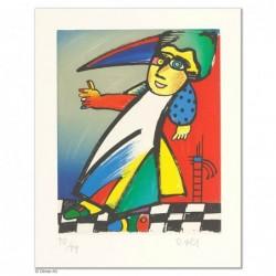 """Original Bild """"ZAUBERIN"""" von Otmar Alt - Kunst mit Zertifikat kaufen"""