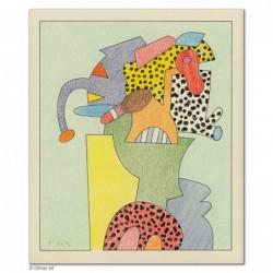 """Original Bild """"Schmuckelefant"""" von Otmar Alt - Kunst mit Zertifikat kaufen"""