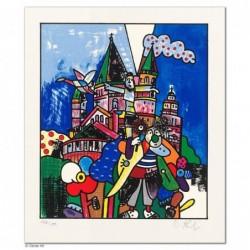"""Original Bild """"MAINZER ANSICHTEN"""" von Otmar Alt - Kunst mit Zertifikat kaufen"""