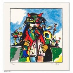"""Original Bild """"MUSIKZAUBER"""" von Otmar Alt - Kunst mit Zertifikat kaufen"""