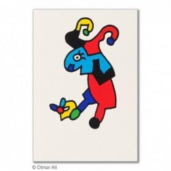 """Original Bild """"STERNZEICHEN WIDDER"""" von Otmar Alt - Kunst mit Zertifikat kaufen"""