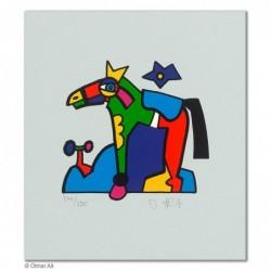"""Original Bild """"ZOOTIERE PONY"""" von Otmar Alt - Kunst mit Zertifikat kaufen"""