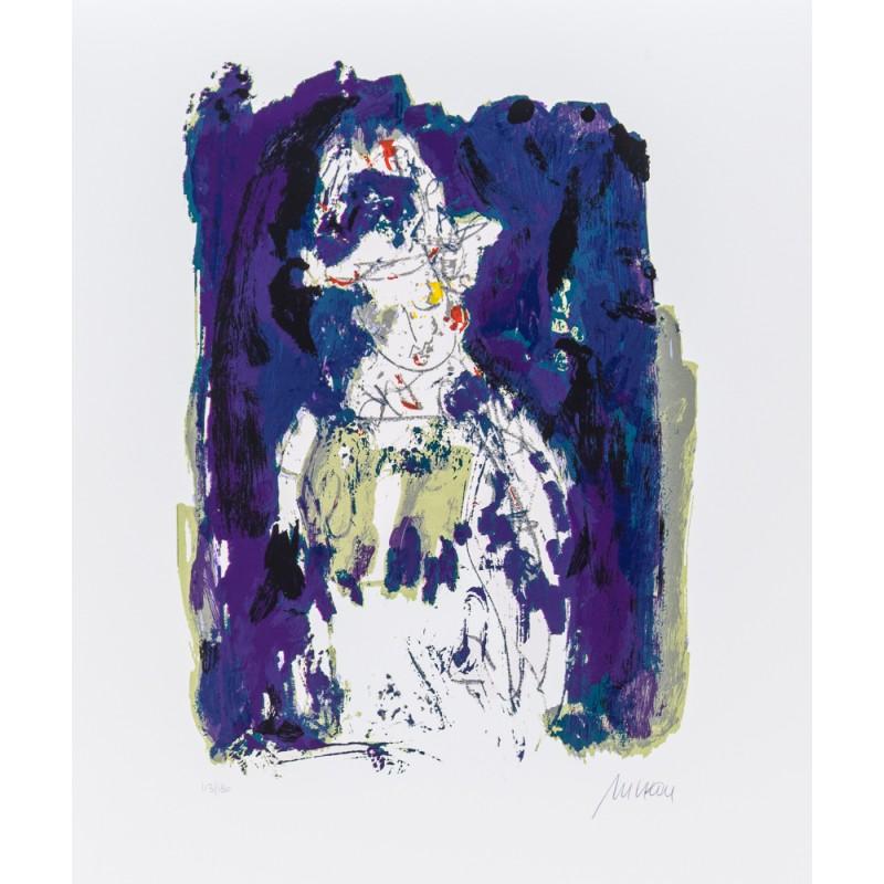 Armin Mueller-Stahl * Die blaue Stunde handsigniertes Original Kunst Bild kaufen