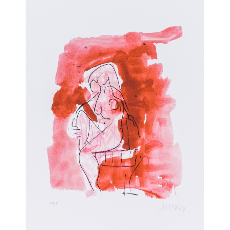 Armin Mueller-Stahl * Chronik der Gefühle handsigniertes Original Kunst Bild kaufen