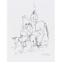 Armin Mueller-Stahl Kunst Bild kaufen Don Quijote | handsigniertes Original