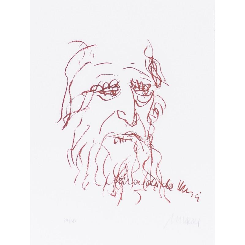 """Armin Mueller Stahl Original Bilder kaufen """"Leonardo Da Vinci"""""""