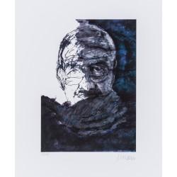 """Armin Mueller-Stahl """"Selbst mit Schal"""" Original Bilder kaufen"""
