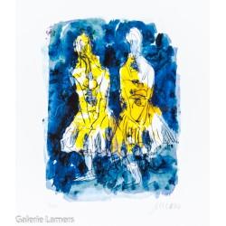 """Armin Mueller-Stahl """"Tänzerinnen - nach Edgar Degas"""" Original Bilder kaufen"""