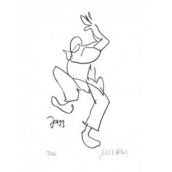 Armin Mueller-Stahl Kunst Bild kaufen Jazz - Celebration | handsigniertes Original