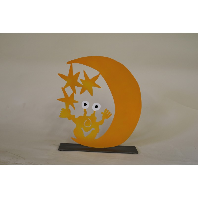 "Original Metall Skulptur von Patrick Preller ""Monster"