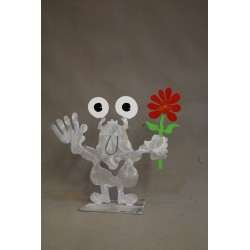 Gartenmonster mit Blume |...