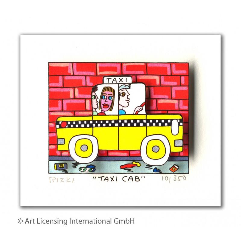James Rizzi Taxi Cab