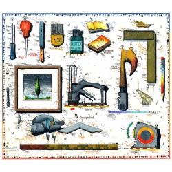 """Original Bild vom Künstler Leslie G. Hunt """"Rahmen mit Namen"""" mit oder ohne Rahmen kaufen"""