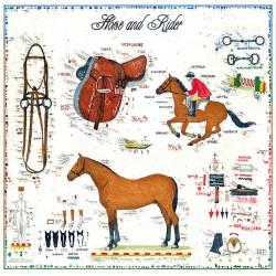 """Original Bild vom Künstler Leslie G. Hunt """"Horse and Rider"""" mit oder ohne Rahmen kaufen"""