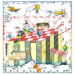 """Original Bild vom Künstler Leslie G. Hunt """"Manager Game"""" mit oder ohne Rahmen kaufen"""