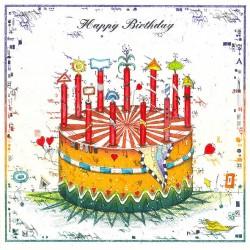 """Original Bild vom Künstler Leslie G. Hunt """"Happy Birthday"""" mit oder ohne Rahmen kaufen"""