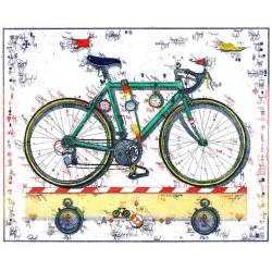 """Original Bild vom Künstler Leslie G. Hunt """"Zeitfahrer"""" mit oder ohne Rahmen kaufen"""