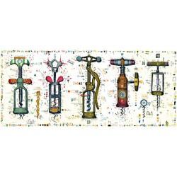 """Original Bild vom Künstler Leslie G. Hunt """"Schlüssel zum Weinparadies"""" mit oder ohne Rahmen kaufen"""