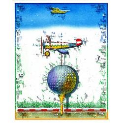 """Original Bild vom Künstler Leslie G. Hunt """"Flugball"""" mit oder ohne Rahmen kaufen"""