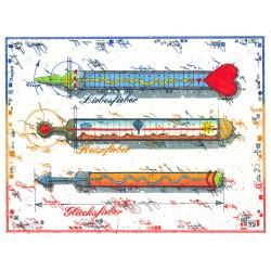 """Original Bild vom Künstler Leslie G. Hunt """"Thermometer"""" mit oder ohne Rahmen kaufen"""