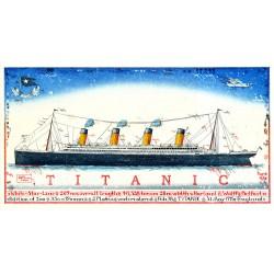 """Original Bild vom Künstler Leslie G. Hunt """"Titanic"""" mit oder ohne Rahmen kaufen"""