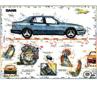 Leslie Hunt Automobile und Automotive als Bilder kaufen. Original Giclee Drucke handsigniert und teilweise limitiert.